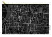 Memphis Tennessee Usa Dark Map Carry-all Pouch