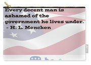 Mencken Quote 3 Carry-all Pouch