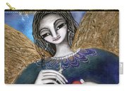 Mender Of Hearts Angel Carry-all Pouch by Prerna Poojara