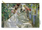 Mending The Sail Carry-all Pouch by Joaquin Sorolla y Bastida