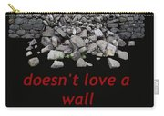 Mending Wall Transparent Background Carry-all Pouch
