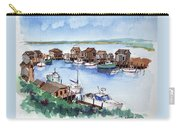 Menemsha Safe Haven Carry-all Pouch by John Crowther