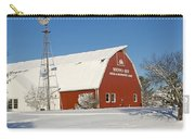Menno Hof In The Snow 2 Carry-all Pouch