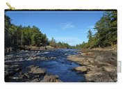 Menominee River At Pemene Falls Michigan Carry-all Pouch