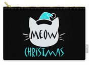 Meow Christmas Carry-all Pouch