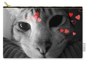 Meow-entine Carry-all Pouch