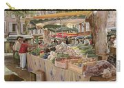 Mercato Provenzale Carry-all Pouch by Guido Borelli