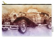 Mercedes-benz Ssk 2 - 1928 - Automotive Art - Car Posters Carry-all Pouch