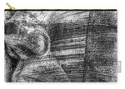 Merchant Seafarers War Memorial Cardiff Bay Black And White Carry-all Pouch