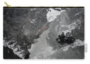 Mercurial Ice Abstract Carry-all Pouch