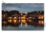 Meredith Bay On Christmas Night Carry-all Pouch