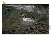 Merganser And Spawning Salmon - Odell Lake Oregon Carry-all Pouch