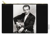 Merle Haggard, Music Legend By John Springfield Carry-all Pouch