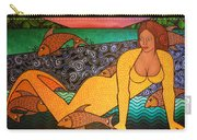 Mermaid And Friends Carry-all Pouch