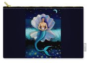Mermaid Art- Mermaid's Pearl Carry-all Pouch