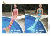 Mermaid Costume For Kids In Canada Carry-all Pouch