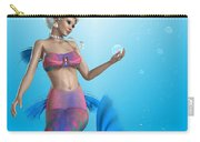 Mermaid In Aqua Carry-all Pouch