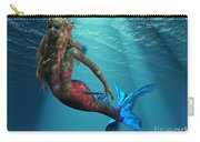 Mermaid Of The Ocean Carry-all Pouch