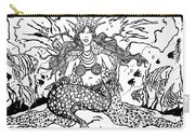Mermaid Queen Carry-all Pouch