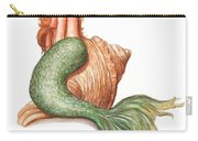 Mermaid Shell Carry-all Pouch