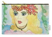 Mermaid With Music  Carry-all Pouch