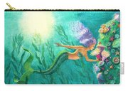 Mermaid's Garden Carry-all Pouch
