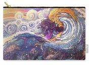 Mermaids In The Surf Carry-all Pouch