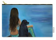 Mermaids Loyal Bud Carry-all Pouch