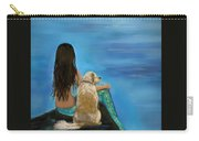 Mermaids Loyal Buddy Carry-all Pouch