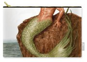Merman On The Rocks Carry-all Pouch