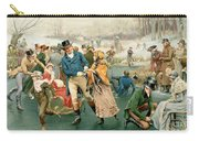 Merry Christmas Carry-all Pouch by Frank Dadd