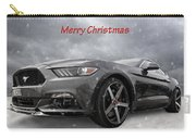 Merry Christmas Mustang S550 Carry-all Pouch