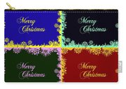 Merry Christmas Pop Art Carry-all Pouch