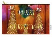 Merry Christmas Trees Colorful Carry-all Pouch