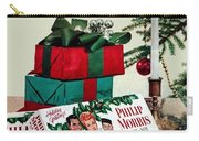 Merry Christmas Vintage Cigarette Advert Carry-all Pouch