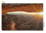 Mesa Arch Sunrise 4 - Canyonlands National Park - Moab Utah Carry-all Pouch