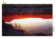 Mesa Arch Sunrise 4 Carry-all Pouch