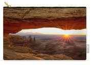 Mesa Arch Sunrise - Canyonlands National Park - Moab Utah Carry-all Pouch by Brian Harig