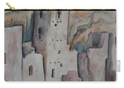 Mesa Verde In Pink Carry-all Pouch