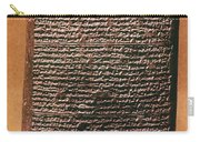 Mesopotamian Cuneiform Carry-all Pouch