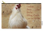 Message From A Chicken Carry-all Pouch