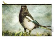 Message From The Magpie Carry-all Pouch by Belinda Greb
