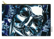 Metal Anonymous Mask On Motherboard Carry-all Pouch