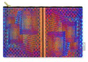 Metal Panel Abstract Carry-all Pouch