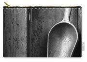 Metal Scoop In Wooden Box Still Life Carry-all Pouch