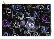 Metallic Swirls Carry-all Pouch