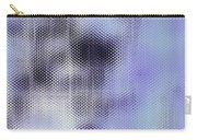 Metallic Weaving Pattern Carry-all Pouch