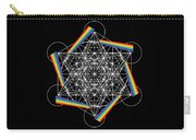 Metatron's Cube 5d Carry-all Pouch