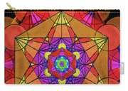Metatron's Cube - Autumn Carry-all Pouch