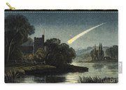 Meteor In Night Sky, 1868 Carry-all Pouch